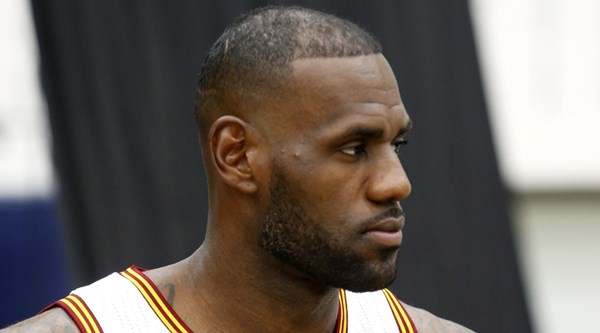Here's why LeBron James won't be making a Colin Kaepernick-style anthem protest