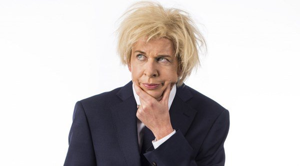 Katie Hopkins becomes 'Brit with balls' Boris Johnson for charity campaign
