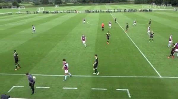 This touch from Chelsea U18 coach Jody Morris is probably better than anything he did as a player