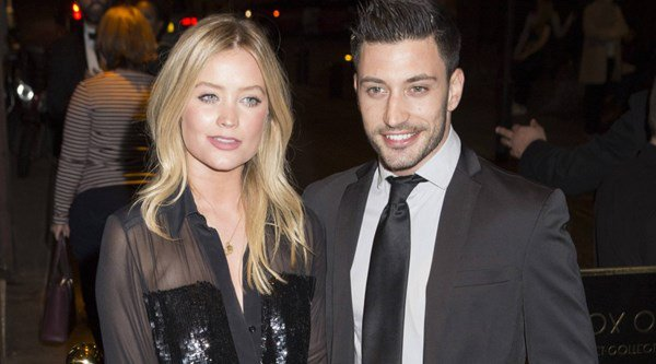 Laura Whitmore and dancing partner Giovanni Pernice joined by Strictly stars at performance of The Last Tango