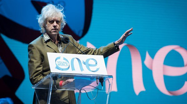 Bob Geldof has some very strong words to say about Donald Trump