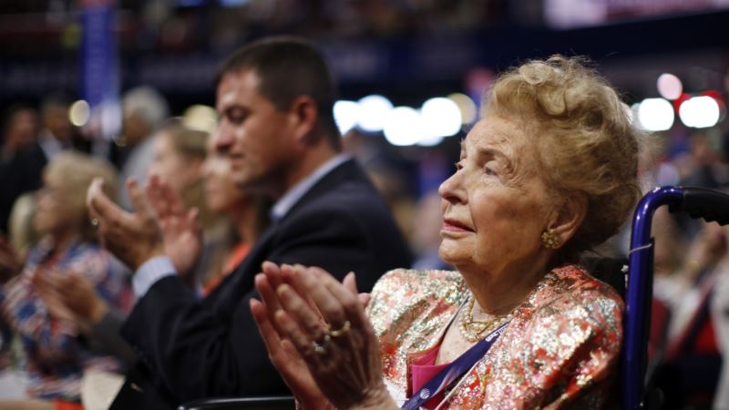 Phyllis Schlafly 'First Lady of US Anti-Feminism' Dies