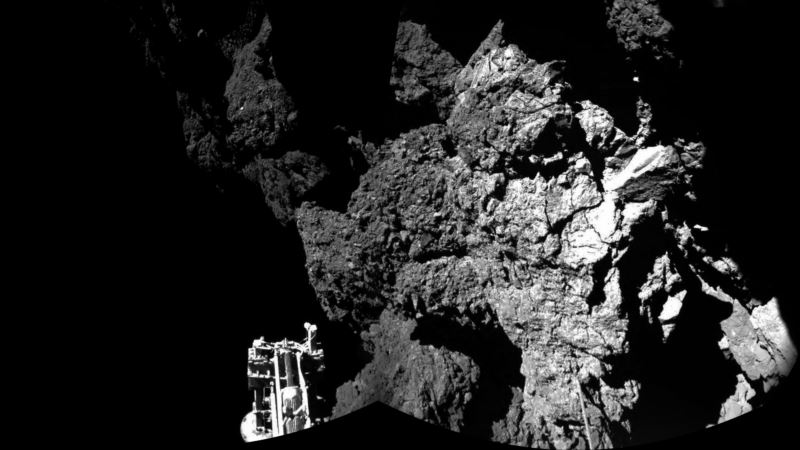 Europe's Rosetta Space Probe Finds Lost Philae Lander on Comet
