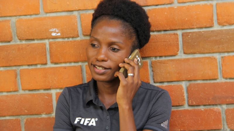 Malawi's Female Ref Shines on Male-dominated Field