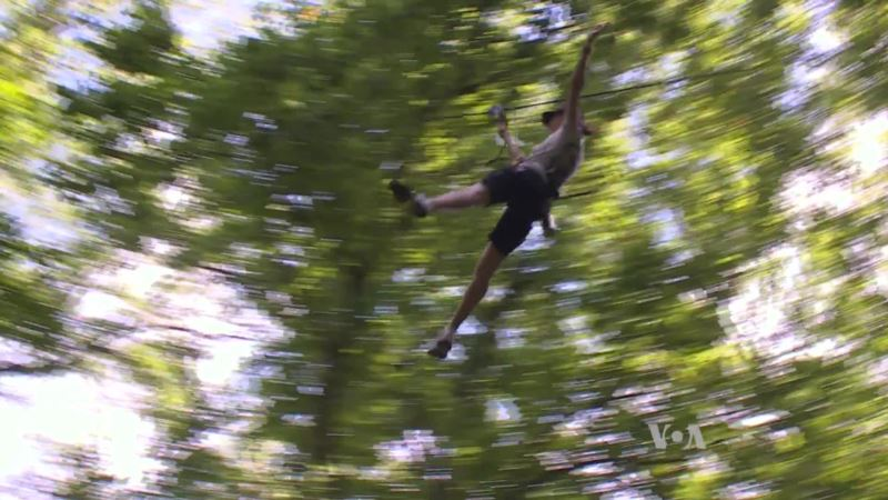 Obstacle Courses Let Visitors 'Go Ape' for Love of Nature, Adventure
