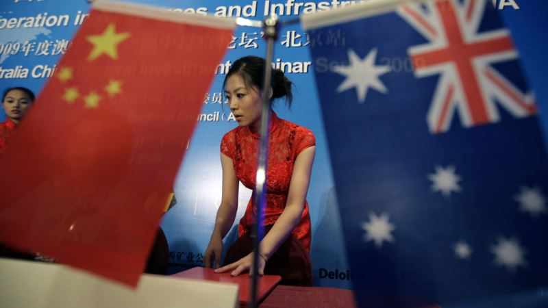 US Eyeing Chinese Influence In Australian Politics