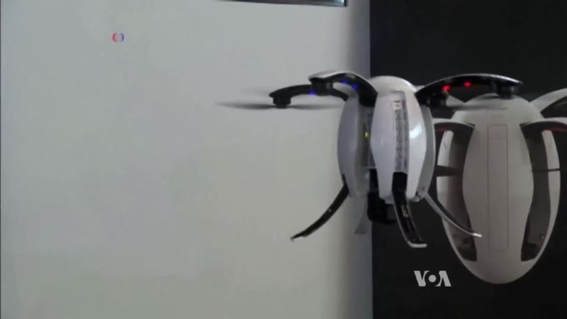First Egg-Shaped Drone Flies into the Future