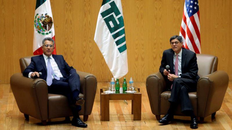 Treasury's Lew: US, Mexico Need to Deepen Trade Ties