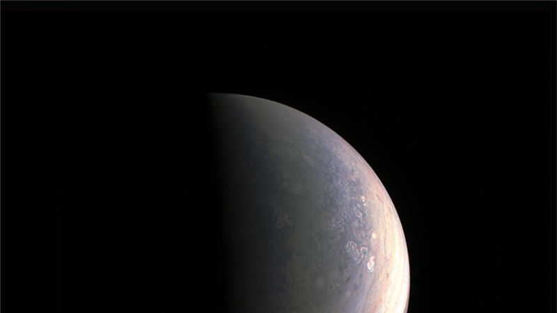 Juno Probe Captures Images of Jupiter's Poles