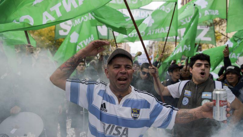 Union Calls General Strike, First in Argentina Under Macri