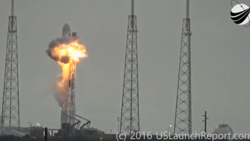 SpaceX Blast Investigation Suggests Breach in Oxygen Tank's Helium System