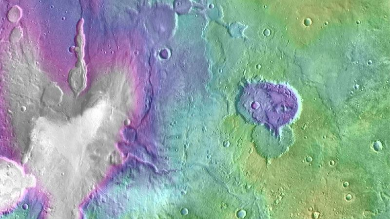 Mars May Have Been Wet More Recently