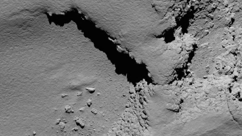Rosetta Probe Ends 12-year Mission with Crash Into Comet