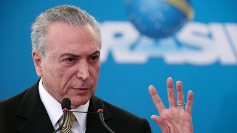 Brazil's New President Promises Investors Political Stability