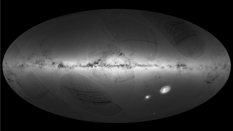 European Space Probe Maps 1.15 Billion Stars