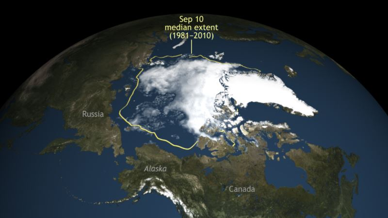 WMO: Rapidly Melting Arctic Sea Ice Signals Accelerated Global Warming