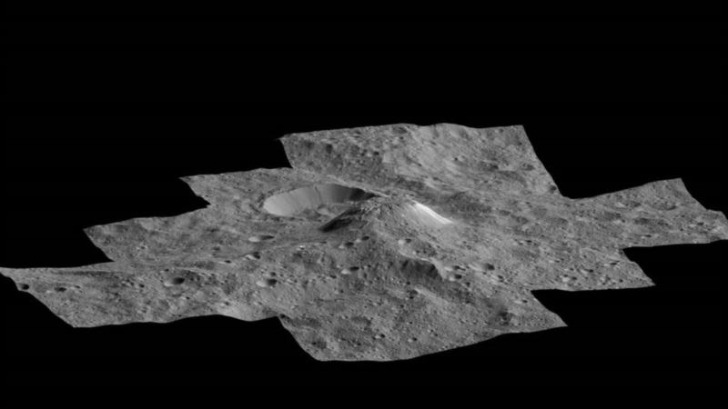 NASA Spots 'Cryovolcano' on Texas-Sized Dwarf Planet
