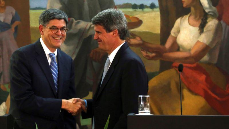 US' Lew Praises Argentina Reforms, Offers Tax Help