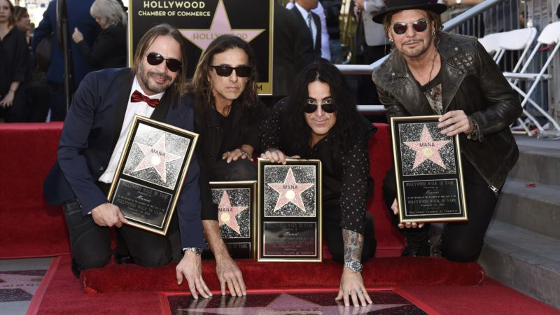 Mexican Band Maná Urges Latinos to Vote in US Election