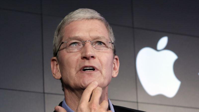 Apple CEO Blames EU Tax Ruling on Anti-US Sentiment