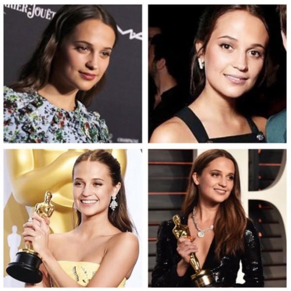 Alicia's awards season looks, courtesy of Kelly Cornwall