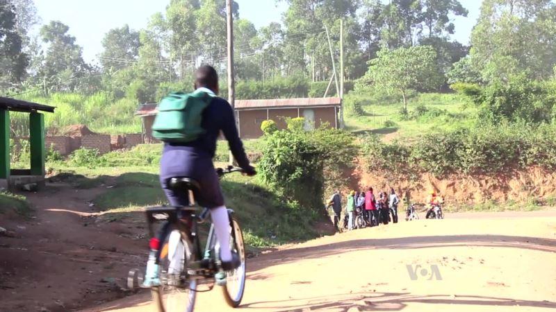 Power of the Pedal Helps Girls in Western Kenya