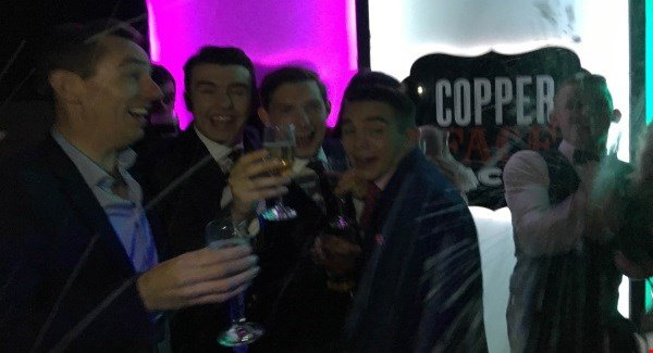 Tubs took his Late Late guests to Coppers last night and it looks like fun