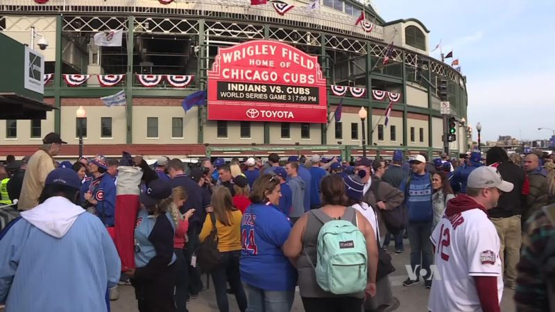 Chicago Cubs Host First World Series Games in 71 years