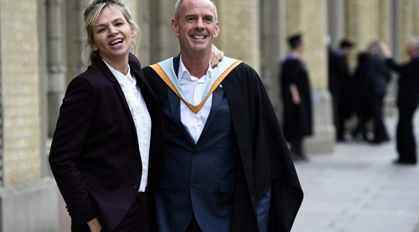 Zoe Ball's father speaks out on his daughter's split with Fatboy Slim