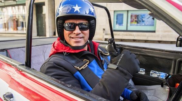 Matt LeBlanc tweets a sneak peek as he gets back to work on Top Gear