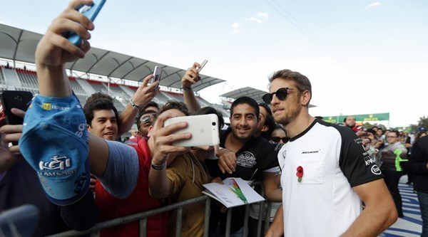 Jenson Button will compete in his 300th race on Sunday, but how did his previous landmark drives go?