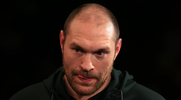 Heavyweight boxer Tyson Fury tests positive for cocaine