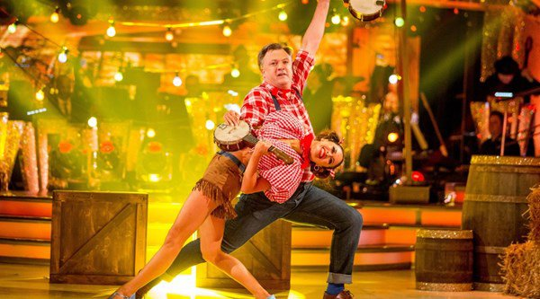 Standing ovation for Strictly Come Dancing underdog Ed Balls as week two sees competition hot up