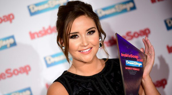 Jacqueline Jossa dazzles on red carpet at Inside Soap Awards