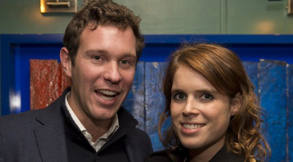 Princess Eugenie and boyfriend Jack loved-up at Serpentine party