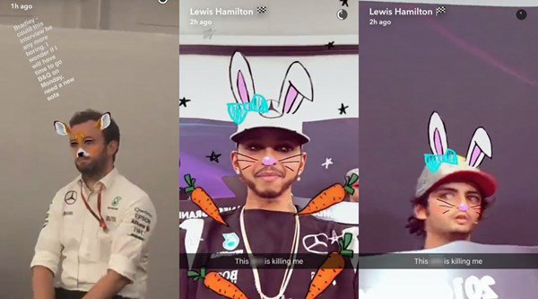 Lewis Hamilton went rogue in a Formula 1 press conference and it's surprisingly funny