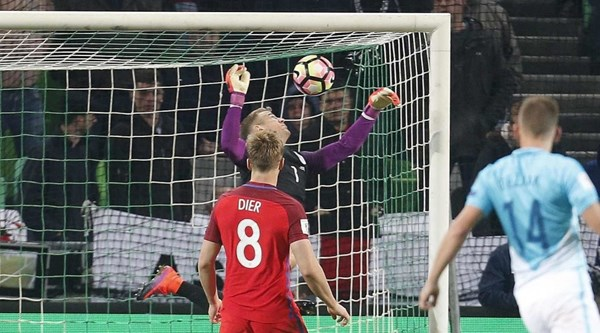 This epic save by Joe Hart was the one good part of England's goalless draw with Slovenia