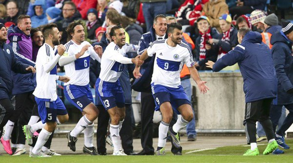San Marino actually scored a goal and nobody could quite believe it