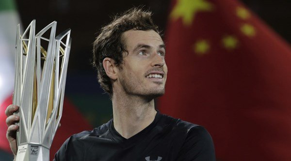 Andy Murray has claimed victory at the Shanghai Masters