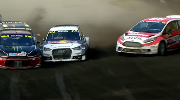 This World Rallycross overtake will make you wonder why you wasted so much time watching F1