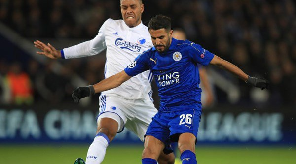Mahrez's goal, Schmeichel's save and all the highlights from Leicester v Copenhagen