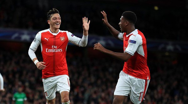 Mesut Ozil surprised everybody with his first professional hat-trick