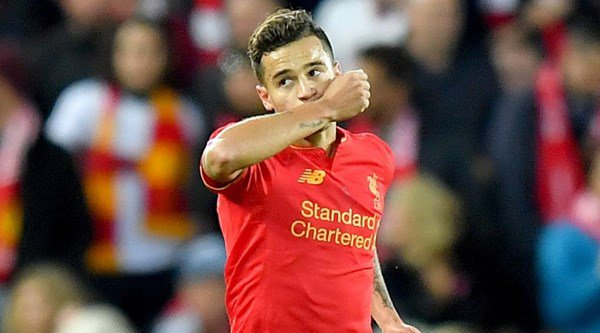 11 places Philippe Coutinho's magic touch sent the West Brom defence