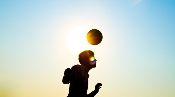 Heading a football found to cause significant brain function change