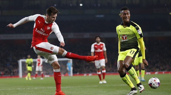 Carl Jenkinson made his Arsenal return and was the feel good story of the evening