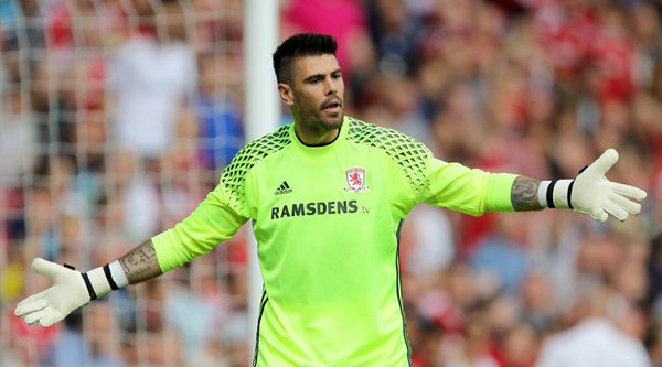 Middlesbrough goalkeeper Victor Valdes has released a quirky new dating app