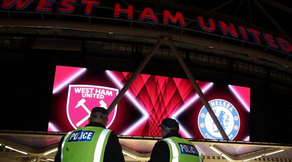West Ham-Chelsea violence could see 200 supporters banned