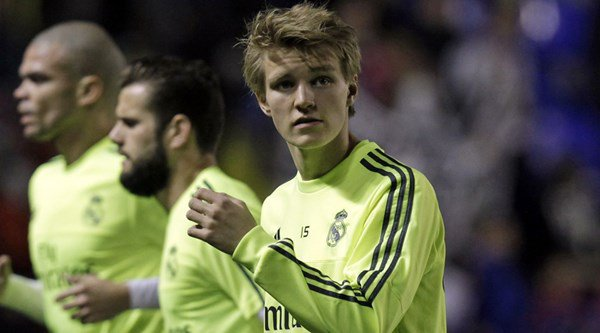 Remember Martin Odegaard? He's well and truly back after this stunning run for Real Madrid Castilla