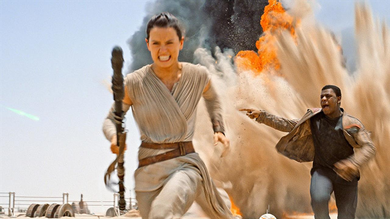 Watch- Feature length Star Wars the Force Awakens review