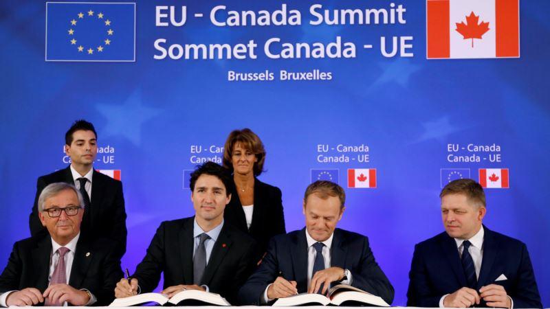 EU-Canada Sign Long-delayed Trade Deal